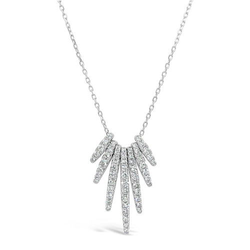 Facet Collection Diamond Necklace
