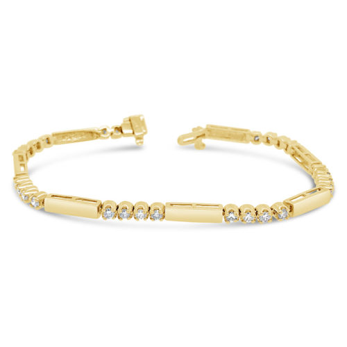Facet Collection Diamond Bracelet